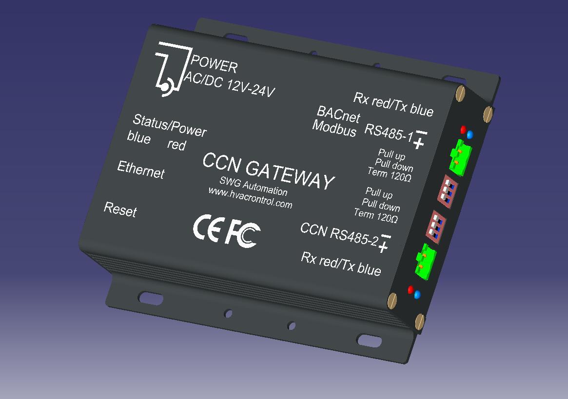 在楼宇自控或机房自动化项目中,如仅仅通过外部干接点控制冷水机组,除了能获取故障及运行状态外,没有更多的信息,只能做做简单的启停联锁,但是在像冷机群控、变流量等应用场合,必须通过通讯接口与冷水机组沟通。 开利空调(Carrier)是全球最大的中央空调制造商之一,从上世纪80年代起,大部分产品转向直接数字控制,并采用了私有的CCN(Carrier Comfort Network)网络协议,不对外开放,除非整个BA系统从上至下采用CCN方案,否则必须购买网关模块才能与冷机通讯。 开利官方的网关模块从早期的Dat