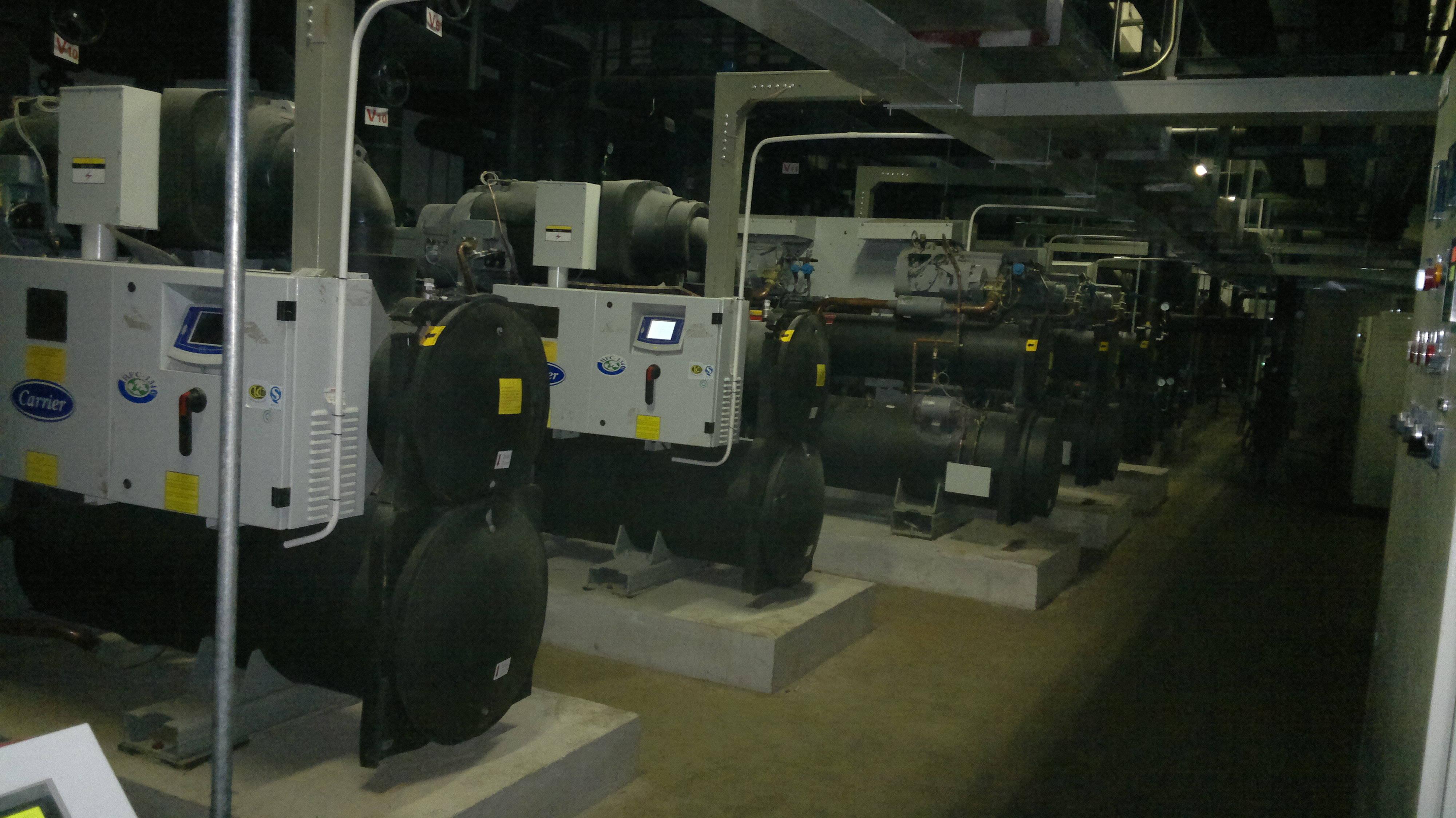 地源热泵机房